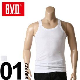 大きいサイズ メンズ B.V.D. (ビーブイディー) ランニング アンダーシャツ [3L 4L] サカゼン 肌着 下着 インナー Tシャツ tシャツ
