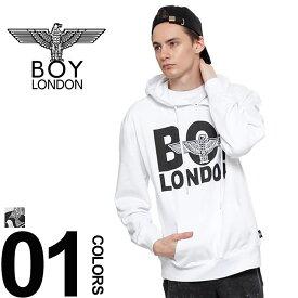 419df8ec46ac BOY LONDON (ボーイロンドン) フロント EAGLE ロゴ プルオーバーメンズ カジュアル 男性 メンズファッション