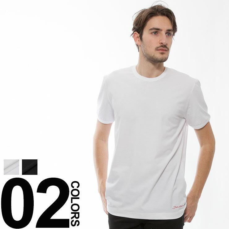 ドルチェ&ガッバーナ DOLCE&GABBANA Tシャツ 半袖 カットソー ブランド メンズ トップス DGN8C40JFUEB0