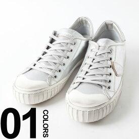\最大2千円OFFクーポン/フィリップモデルパリス PHILIPPE MODEL PARIS スニーカー ビンテージ加工 ローカット シルバー ブランド メンズ 靴 シューズ PMGRLUMJ01