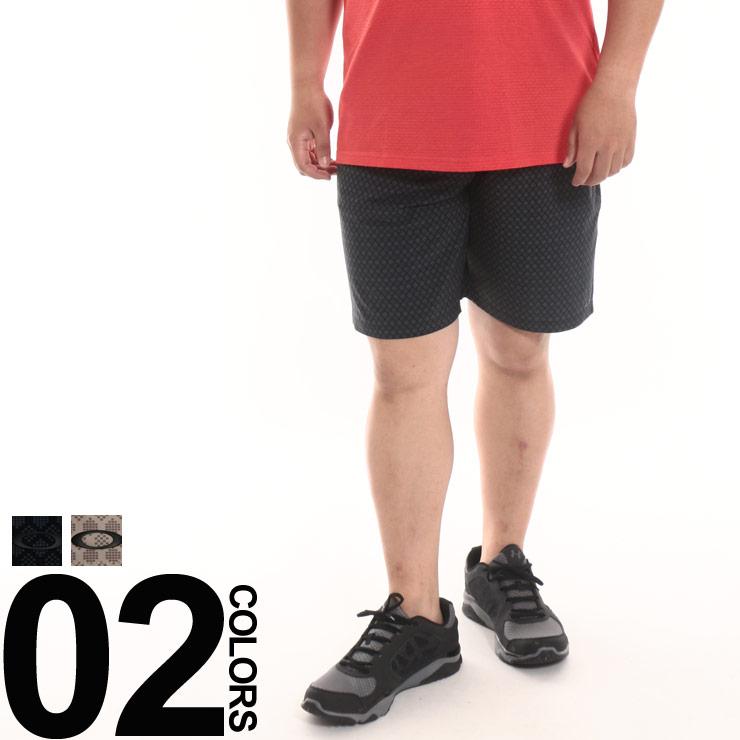 大きいサイズ メンズ OAKLEY (オークリー) ドライ 総柄 ショートパンツ ANDREW SHORTS [40インチ] サカゼン ハーフパンツ ボトムス ハーパン パンツ ショーパン プリント スポーツ オーバーサイズ