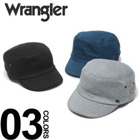 大きいサイズ メンズ wrangler (ラングラー) ワンポイント刺繍 リブゴム ワークキャップ [61cm] サカゼン カジュアル ファッション 小物 帽子 キャップ 無地 シンプル