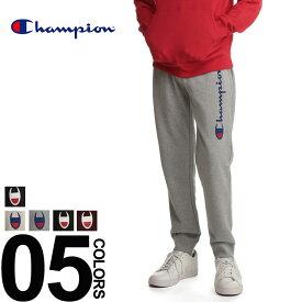 Champion チャンピオン スウェットパンツ ロゴプリント ウエストコード スウェット パンツメンズ カジュアル 男性 ファッション ボトムス ロング スエット プリント コットン C3N211