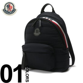 c03e747c4125 MONCLER (モンクレール) トリコロール ロゴ バックパックブランド メンズ 男性 カジュアル ファッション 小物 バッグ 鞄