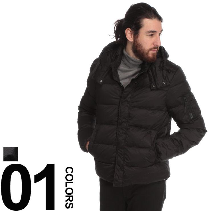 DUVETICA (デュベティカ) フード取り外し フルジップ ダウンジャケット endaブランド メンズ 男性 カジュアル ファッション アウター ダウン フード 機能性 防寒 秋冬 DVENDA
