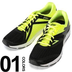 スポーツウェア アシックス スニーカー 靴 大きいサイズ メンズ ローカット ブラック×イエロー US11-13 ASICS AMPLICA ブランド 大きいサイズのスポーツウェア