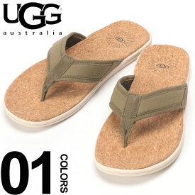 UGG Australia (アグ オーストラリア) ストラップ裏メッシュ コルク トングサンダル SEASIDE FLIPブランド メンズ 男性 カジュアル ファッション 靴 シューズ ビーチサンダル 海 夏 シンプル UGG1099749