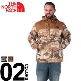 ザノースフェイス アノラックジャケット 大きいサイズ メンズ アウター 迷彩柄 切り替え ハーフジップ アノラックジャケット WINDWALL ブラック/ベージュ 1XL 2XL THE NORTH FACE 秋冬 冬 メンズ 大きいサイズ アウターのサカゼン