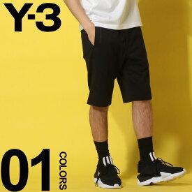 Y-3 (ワイスリー) 綿100% ウエストコード ロゴ ショートパンツブランド メンズ 男性 カジュアル ファッション ボトムス ショーツ アディダス スポーティー 春夏 Y3DY7194