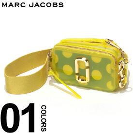 MARC JACOBS (マーク ジェイコブス) ダブルJロゴ ドットポーチ クリア スナップショット バッグ YELLOWブランド レディース カジュアル ファッション レザー 小さい コンパクト 鞄 ショルダー MJLM0014834700