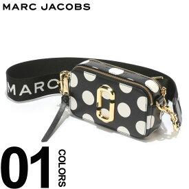 MARC JACOBS (マーク ジェイコブス) ダブルJロゴ ドット ショルダー スナップショット バッグ BLACKブランド レディース カジュアル ファッション レザー 小さい コンパクト 鞄 ミニバッグ MJLM0014885002