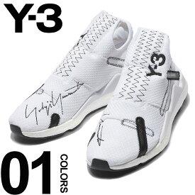 Y-3 (ワイスリー) グラフィックロゴ刺繍 スニーカー REBERUブランド メンズ 男性 カジュアル ファッション 靴 シューズ スポーティー クッション Y3F97389