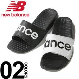 ニューバランス サンダル new balance ロゴプリント マジックテープ サンダル SDL230メンズ カジュアル 男性 ファッション 靴 シューズ クッション レジャー スポーツ SDL230BK