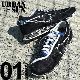 urbansun (アーバンサン) デニム ロゴ ローカットスニーカーブランド メンズ 男性 カジュアル ファッション 靴 シューズ スニーカー ジーンズ ストリート USANDRE221