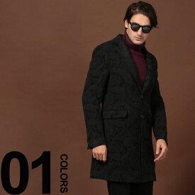 ETRO (エトロ) カシミヤ混 ペイズリー柄 シングル コートブランド メンズ 男性 カジュアル ファッション アウター ウール テーラード 柄物 秋冬 ET1185A0257