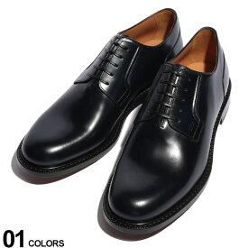 Christian Dior (クリスチャン ディオール) レザー プレーントゥ 外羽根 レースアップ シューズブランド メンズ 男性 紳士 ビジネス フォーマル 革靴 本革 シンプル ギフト プレゼント CD3DE287YON