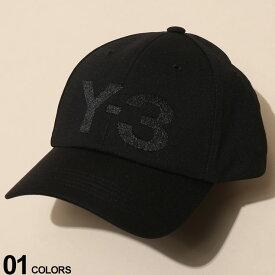 Y-3 (ワイスリー) ロゴ刺繍 6パネル キャップブランド メンズ 男性 カジュアル ファッション 帽子 シンプル スポーツ ストリート アディダス Y3FH9290