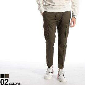 DIESEL (ディーゼル) 綿100% 無地 ジップフライ カーゴパンツブランド メンズ 男性 カジュアル ファッション ボトムス パンツ コットン ミリタリー ストリート DSSZL0BASZ