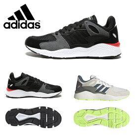 アディダス スニーカー adidas シューズ メンズ レザー 異素材ミックス スニーカー ADICHAOS BLACK アディケイオスメンズ 男性 小物 靴 シューズ スニーカー ランニング レトロ スポーツ クッション EPI42EF1053