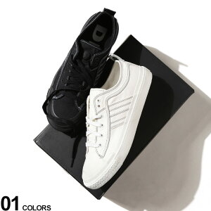 DIESEL (ディーゼル) キャンバス ロゴ ローカットスニーカー S-ASTICO LOW LACEブランド メンズ 男性 シューズ 靴 スニーカー ローカット ストリート レースアップ DSY01873PR012