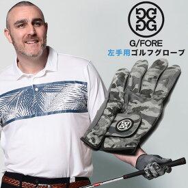 スポーツウェア 片手グローブ 大きいサイズ メンズ レザー 左手用 ゴルフ グローブ 手袋 レザー 革 ゴルフグローブ スポーツ 男性用 ダークグレー 1XL-2XL G/FORE ジーフォア ブランド 大きいサイズのスポーツウェア