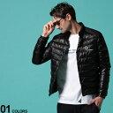 MONCLER (モンクレール) ナイロン 胸ロゴ ボタンジップ ダウンジャケット ALTONブランド メンズ 男性 アウター ジャケ…