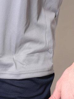 heatgearLOOSEワンポイントロゴクルーネック半袖Tシャツ