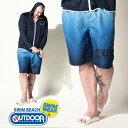 スイムパンツ 大きいサイズ メンズ メッシュインナー スイム ショートパンツ ショーツ 水着 海 ネイビー OUTDOOR PROD…