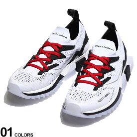 DOLCE&GABBANA (ドルチェ&ガッバーナ) ストレッチメッシュ レースアップ ソレントスニーカーブランド メンズ 男性 シューズ 靴 スニーカー メッシュ ロゴ ドルガバ ローカット スポーツ DGCS1822AW476