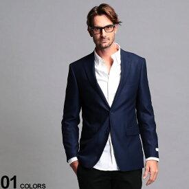 カルバンクライン メンズ ジャケット Calvin Klein CK ストレッチ シングル 2ツボタン ブレザー SLIMFIT ブランド テーラード スリムフィット CKMANS17NX