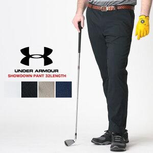 大きいサイズ ゴルフウェア ゴルフパンツ アンダーアーマー USA規格 大きいサイズ メンズ ウエストゴム SHOWDOWN PANT 32LENGTH スポーツ ゴルフ 伸縮 UNDER ARMOUR GOLF ブランド 大きいサイズのスポー