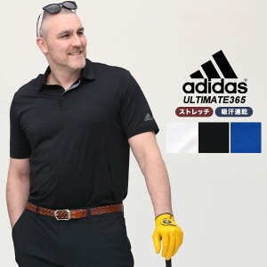 大きいサイズ ゴルフウェア 半袖 ポロシャツ 大きいサイズ メンズ UPF50 ゴルフ スポーツ 1XL 2XL 3XL adidas アディダス GOLF ブランド 大きいサイズのスポーツウェア