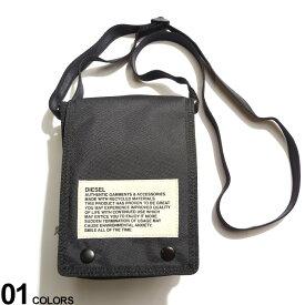 DIESEL (ディーゼル) 軽量 フラップ クロスボディバッグ ANKO WPブランド メンズ 男性 バッグ 鞄 ボディバッグ ショルダーバッグ ストリート コンパクト サコッシュ DSX07814P3902