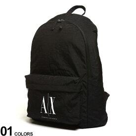 ARMANI EXCHANGE (アルマーニエクスチェンジ) ロゴ バックパックブランド メンズ レディース バッグ リュック 鞄 AE952103