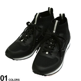 BALLY (バリー) ニット 異素材 ハイカットスニーカーブランド メンズ 男性 シューズ 靴 スニーカー ニット BY6228451