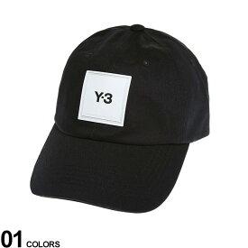 Y-3 (ワイスリー) スクエアロゴ キャップ SQL CAPブランド メンズ 男性 帽子 キャップ ベースボールキャップ Y3HF2143