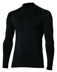 BTパワーストレッチ 保温 速乾 全面消臭 サーモデオ ハイネックシャツ メンズ JW-275