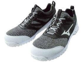 【送料無料】mizuno ミズノ 安全靴 作業靴 ミズノ・オールマイティES31L ゴムの靴紐で脱ぎ履きしやすい F1GA1903