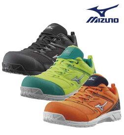 【送料無料】mizuno ミズノ 安全靴 作業靴 ミズノ・オールマイティVS 先芯周りにメッシュを使用し通気性アップ F1GA1803
