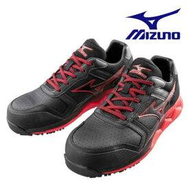 【送料無料】mizuno ミズノ LIMITED DESIGN 安全靴 作業靴 ミズノ・オールマイティ HW11L 安定性、クッション性を両立したFOAM WAVEを搭載 F1GA2000