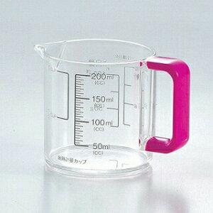 パール金属 Colors 耐熱計量カップ200ml ピンク【BS】【 メジャーカップ おすすめ 料理 計量カップ 人気 計量カップ おしゃれ 計量カップ 水 計量容器 軽量カップ はかり 計量カップ 料理カップ