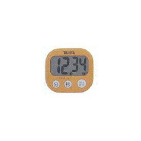 タニタ デジタルタイマー でか見え TD-384 アプリコットオレンジ