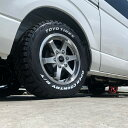 KBRACING16×オープンカントリーR/T【ハイエース タイヤホイールセット ブロックタイヤ 】ハイエース200系2WDや4WD…