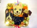 似顔絵ケーキ♪18cm顔4個(お誕生日ケーキ ワンコケーキ 犬用ケーキ 犬の誕生日 犬のおやつ 犬ケーキ 犬のお祝い 犬のプレゼン…