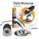 500倍 50倍 30万画素 デジタル マイクロスコープ 簡易顕微鏡 USBカメラ 観察 検査 対応Win10