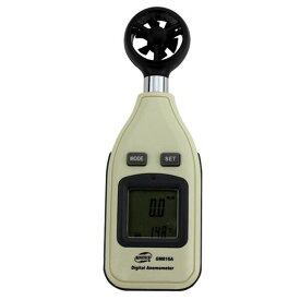 【BENETECH】デジタル風速計 小型/高性能 風速測定 バックライト付 実験、観察、ガーデニング、作業現場、漁業、農業、ゴルフ、スポーツなどいろんなシーンで風速測定に!GM816A