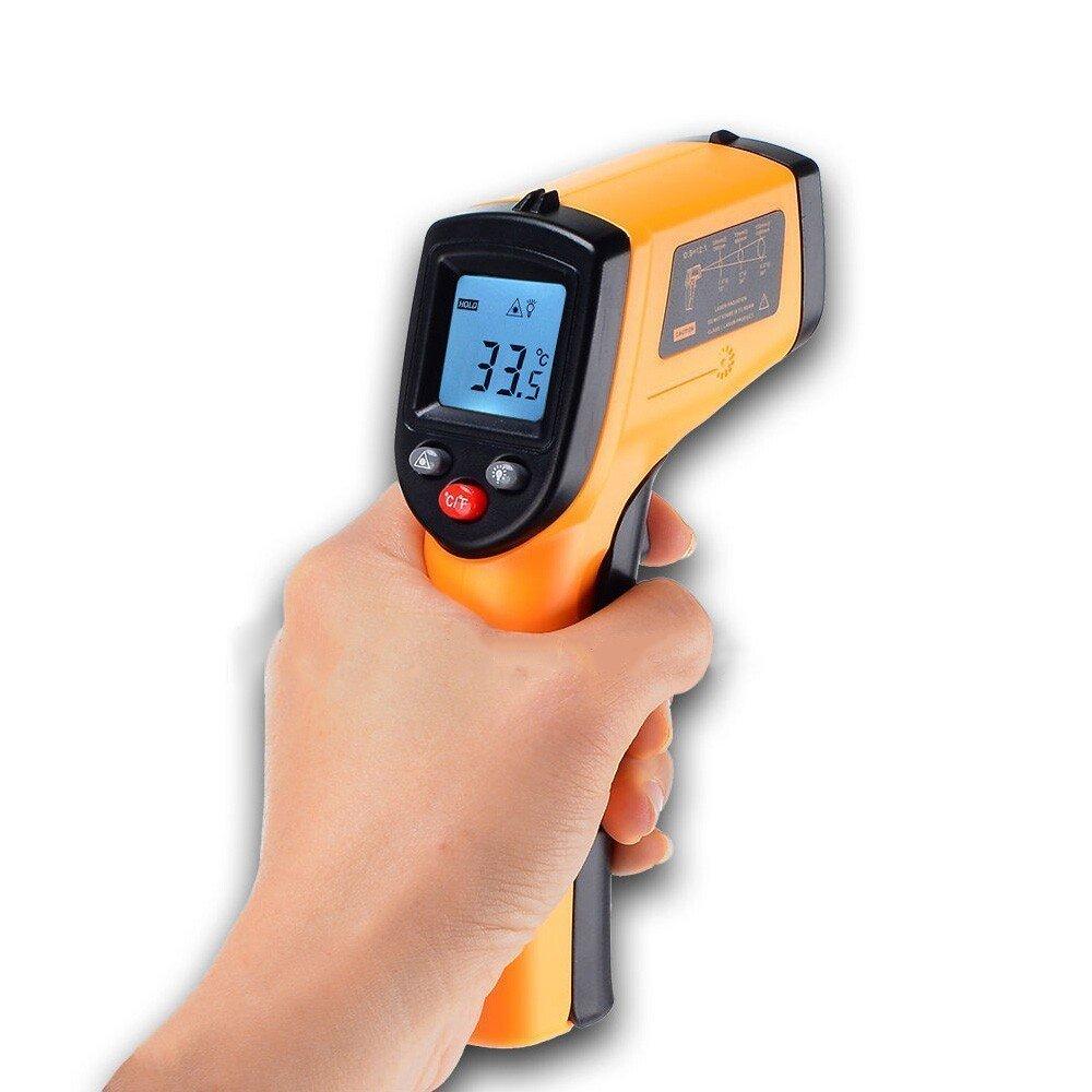 デジタル赤外線非接触 IR 温度計 温度ガンテスター範囲 -50~380℃ GM320
