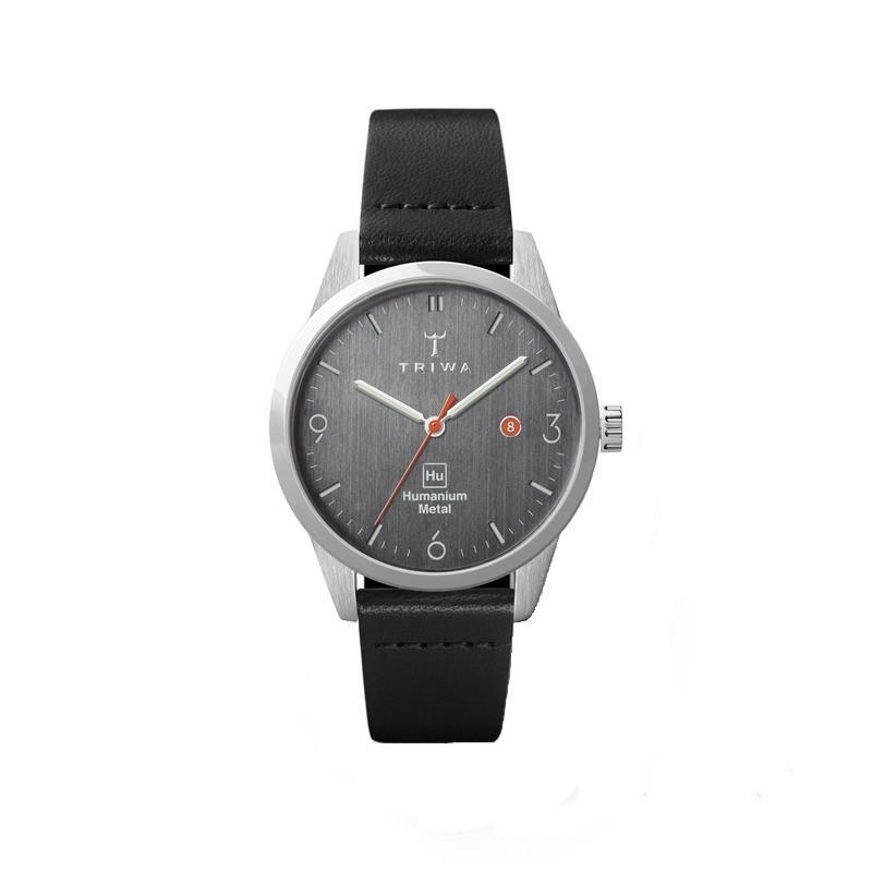 TRIWA x Humanium Metal トリワ ヒューマニウム メタル 腕時計 34mm ダークグレー ブラック レディース 時計