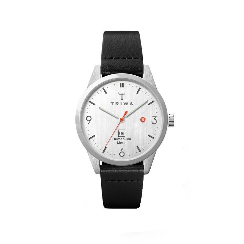 TRIWA x Humanium Metal トリワ ヒューマニウム メタル 腕時計 34mm ライトグレー ブラック レディース 時計
