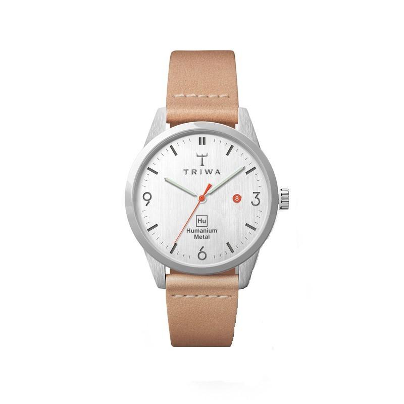 TRIWA x Humanium Metal トリワ ヒューマニウム メタル 腕時計 34mm ライトグレー ベージュ レディース 時計